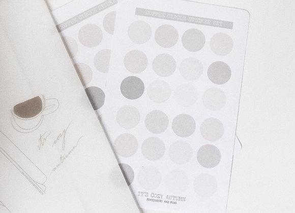 Circles   sticker set