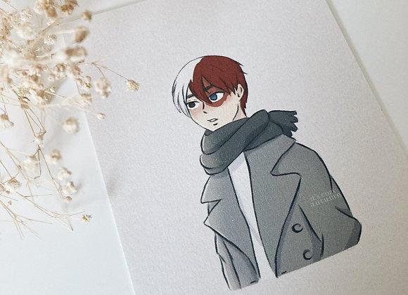 Winter | todoroki print
