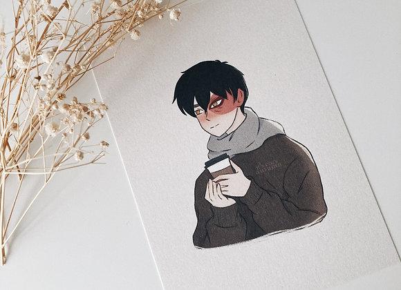 warm   zuko print