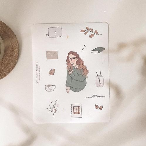 Seasons girls // sticker sheets