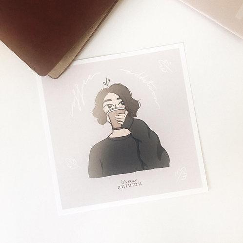 Coffee addiction //jk print