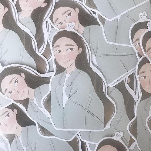 girls // vinyl stickers
