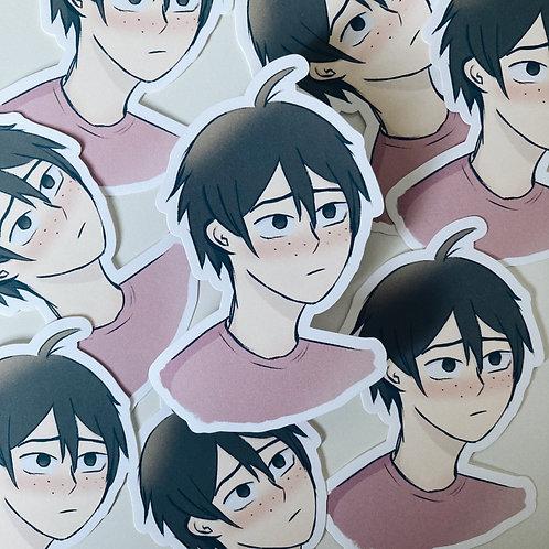 Yamaguchi // haikyuu sticker