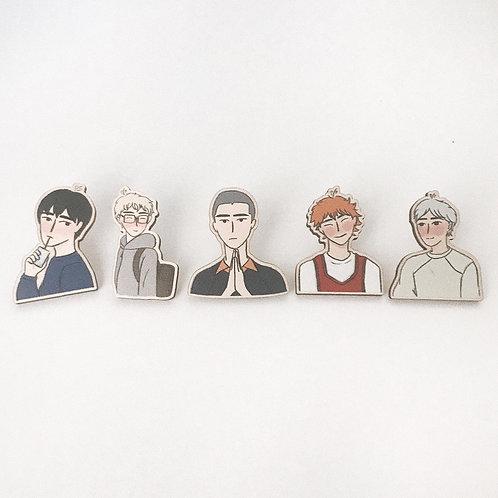 cuties // wooden pins