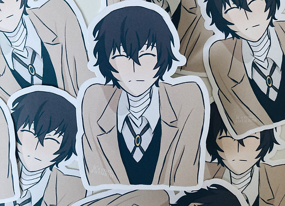 Dazai | bungou stray dogs sticker