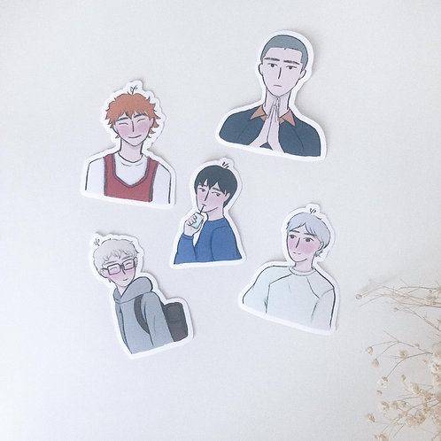 Haikyuu // stickers