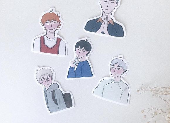 Haikyuu | stickers