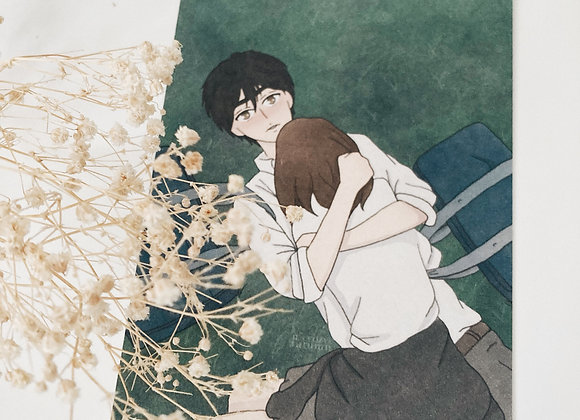 Let me love you | ao haru ride print