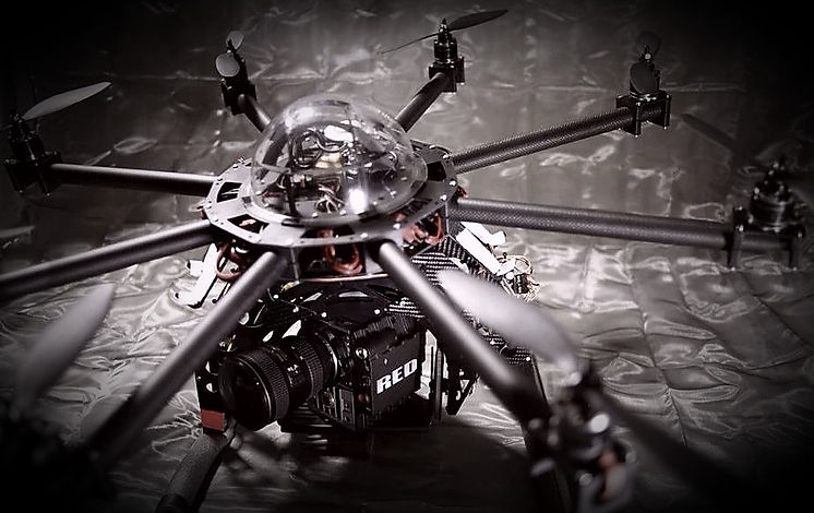 Stellar Cinematics Octocopter