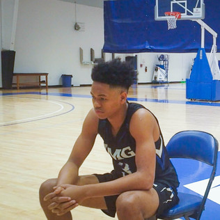On location IMG Academy  w/ Anfernee Simons All Rights Reserved