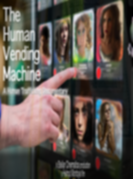 THE HUMAN VENDING MACHINE MAIN POSTER SM