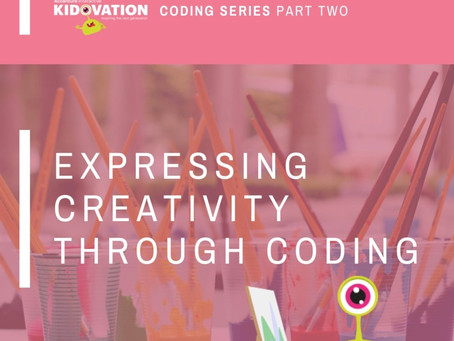 Part II: Coding is Creative