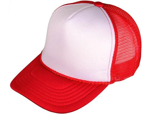 V3 Transportation - Red Trucker Hat