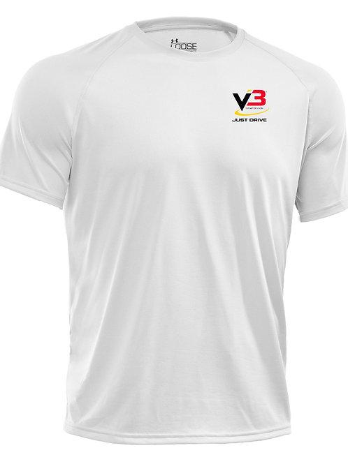 V3 Transportation - Under Armour Shirt White