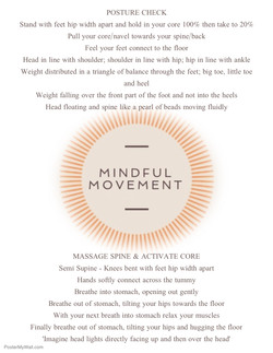 Mindful Movement Exercises