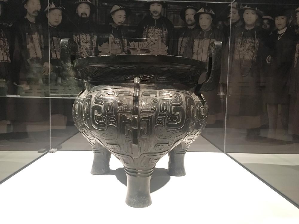 Lobed Tripod Cauldron of Officer Yin (Shi Yin Li), Western Zhou Dynasty (1046-771 BC)