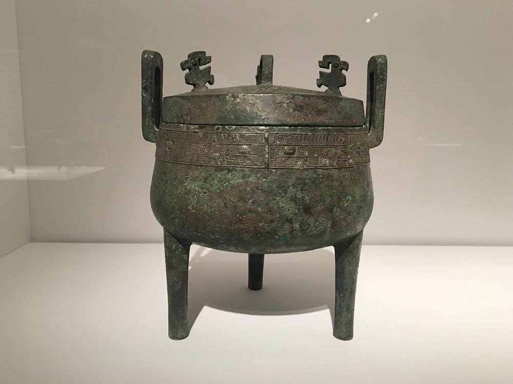 Tripod Cauldron (Ding), Western Zhou Dynasty (1046-771 BC)