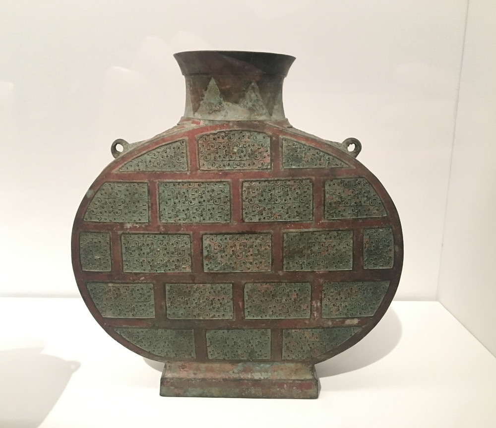 Flask (Bianhu), Warring States Period (475-221 BC)