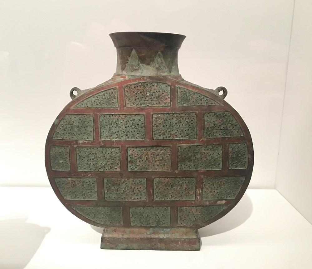 Flask (Bianhu), Warring States Period (475-221 BC)