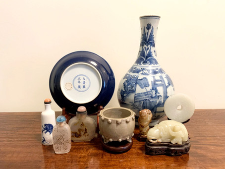 My August 12th Chinese Art Lecture with the Canadian Society of Decorative Arts!