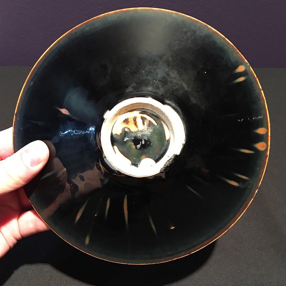 Ding Black Glazed Bowl, Northern Song Dynasty