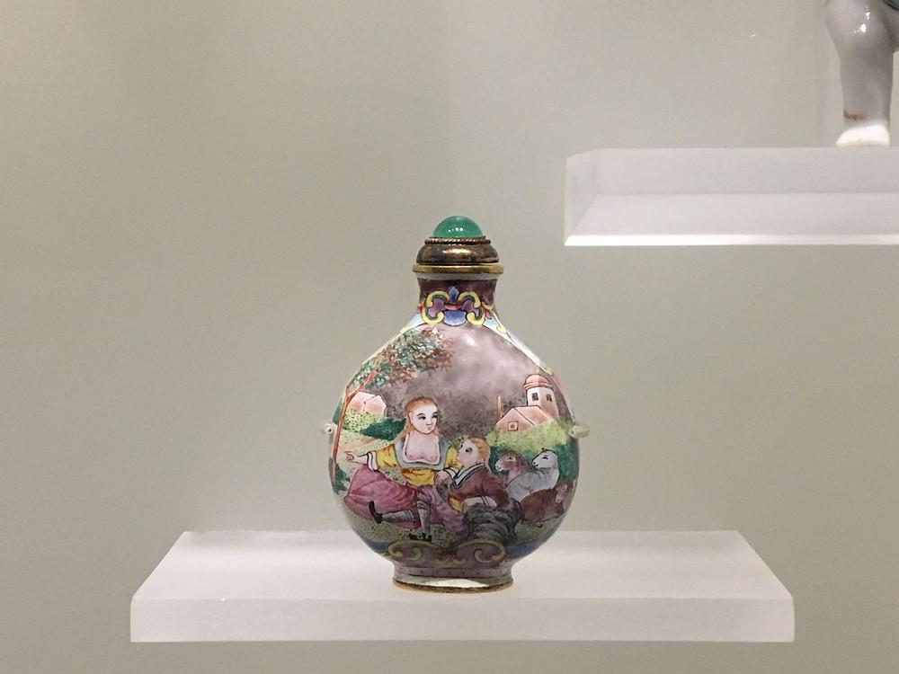 Beijing workshop 'European subject' snuff bottle