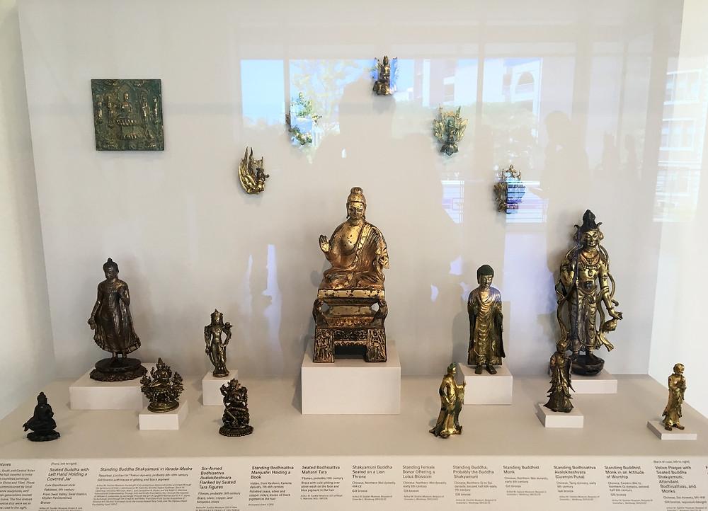 Early Buddhist Bronze Figures