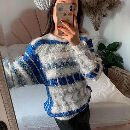 Handmade - unique blue