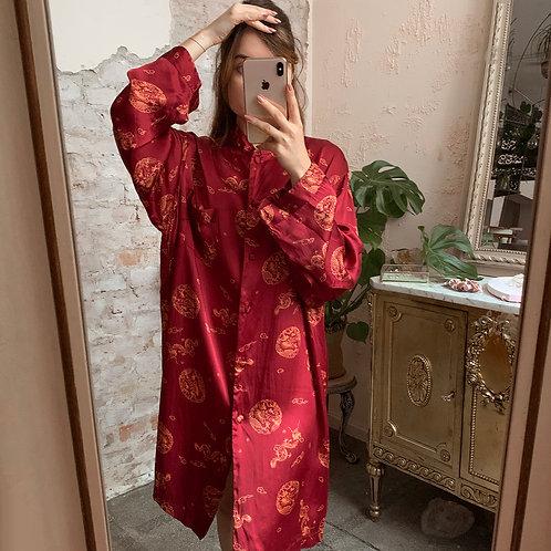 Silk oriental
