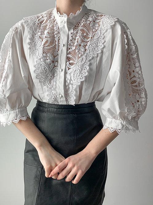 Vintage lace cotton