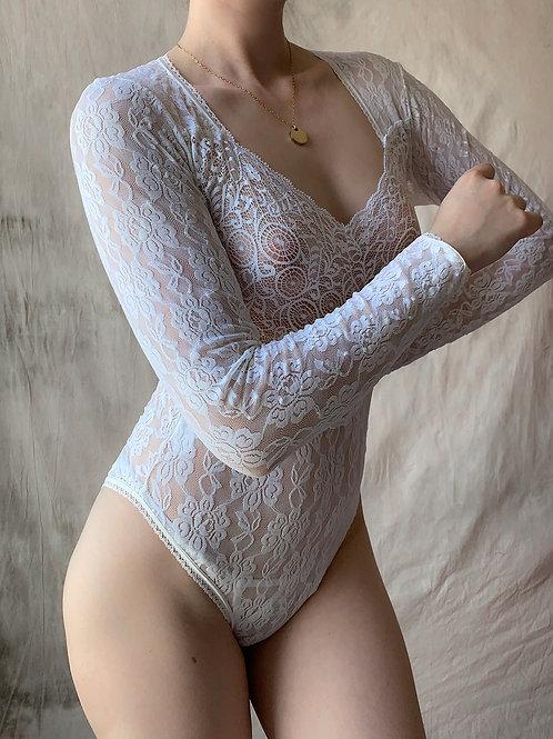 Lace white body