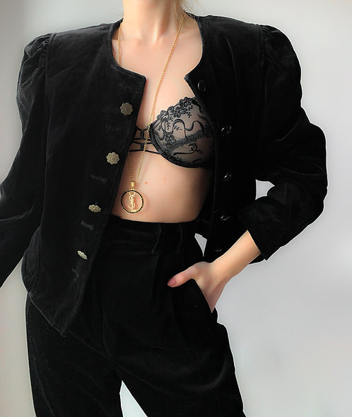 Retro black jacket