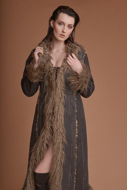 Vintage płaszcz