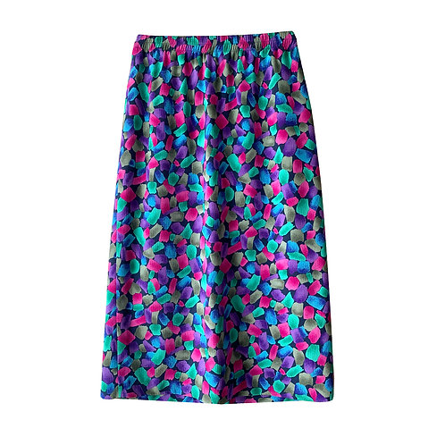 Color trend skirt