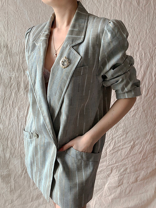Pastel gray jacket