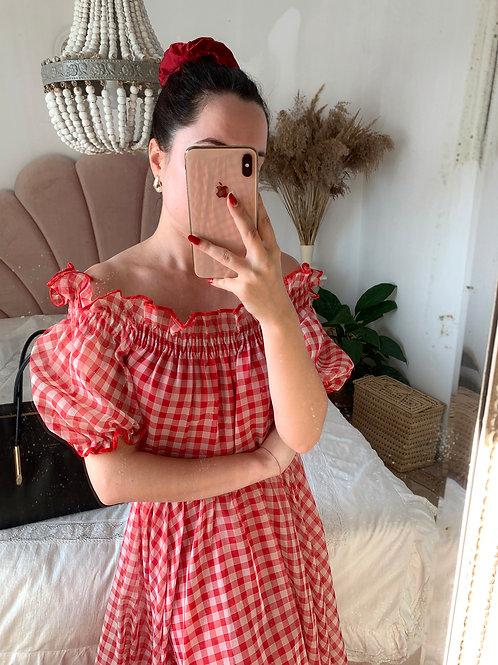 Picnic tulle dress
