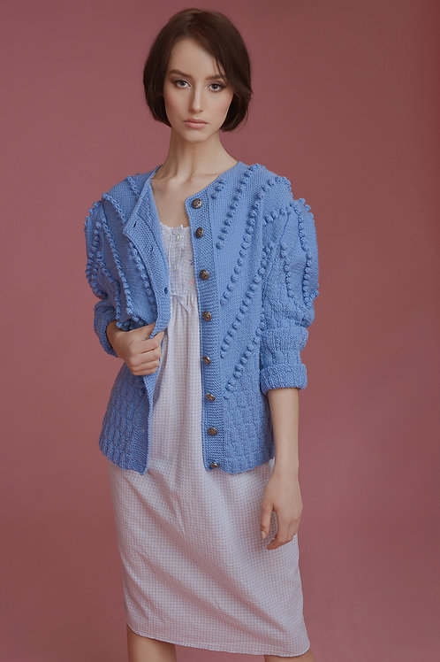 Sweterek deep blue