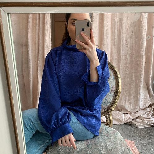 Satin blue