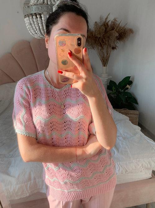 Handmade powder pink
