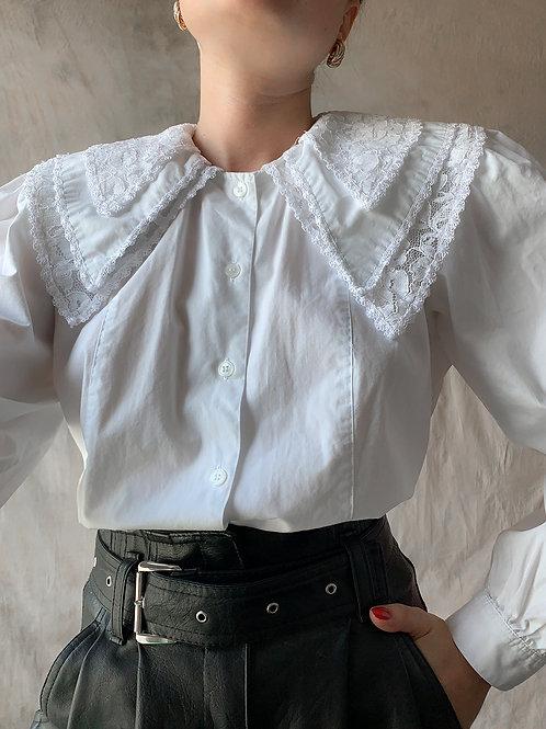 Cotton vintage collar