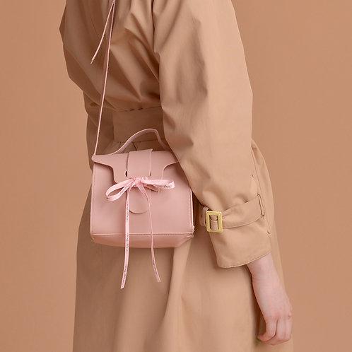 Torebka nude pink