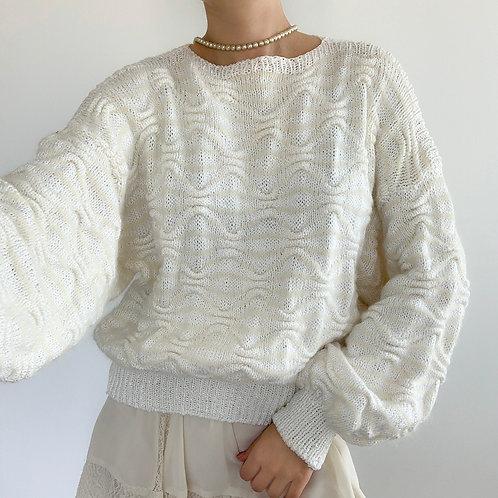 White handmade