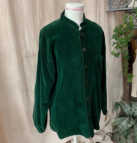 Green velour