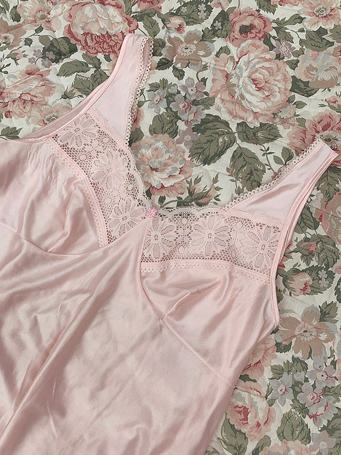Vintage nightdress pink