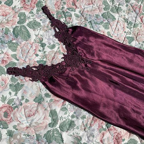 Satin vintage violet