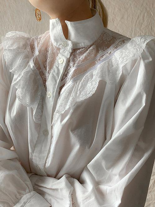 White cotton retro