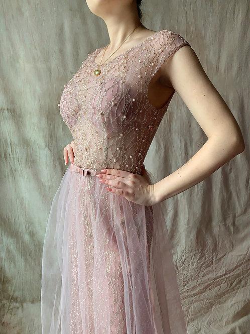 Shine tulle dress