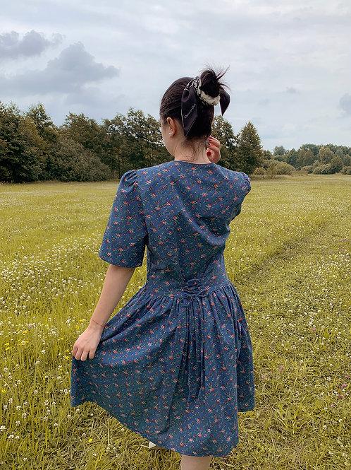 Roses vintage dress