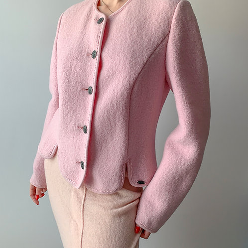 Jacket wool-pink