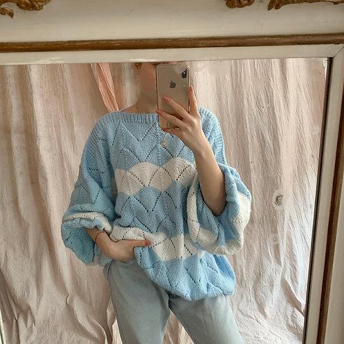Blue handmade